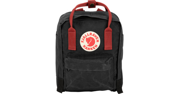5eca79165 Fjällräven Kånken Mini Black-Ox Red - Kids backpack - Coolblue ...