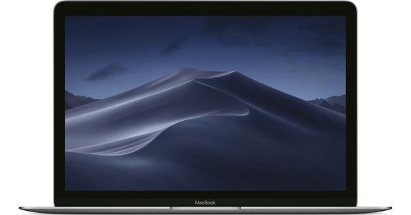 "Apple MacBook 12"" (2017) 16/256GB - 1,4GHz Space Gray AZERTY"
