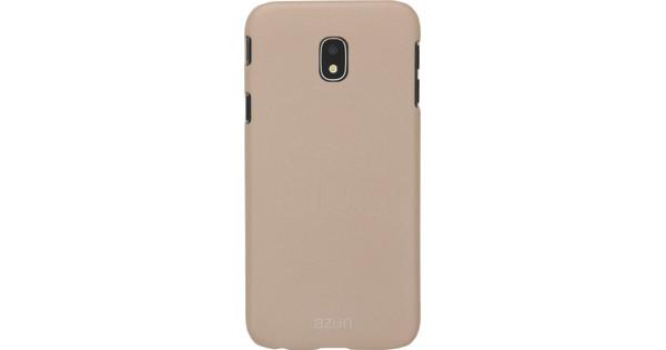 best service 4245e 7c24b Azuri Metallic Soft Touch Samsung Galaxy J3 (2017) Back Cover Gold