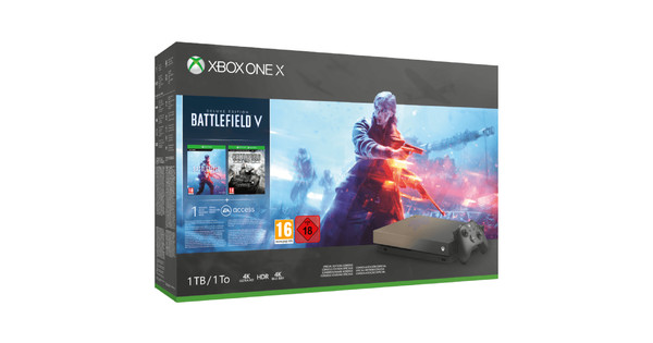 Xbox One X 1TB Battlefield 5