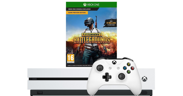 Microsoft Xbox One S 1 To Playerunknown's Battlegrounds Bundle