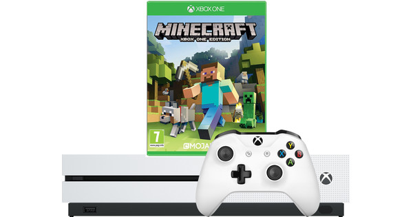 Xbox One S 1 To + Minecraft