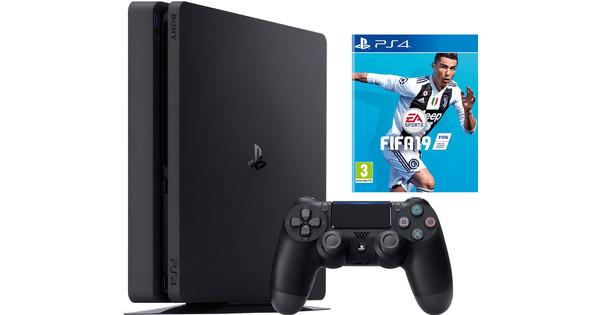 Sony PlayStation 4 Slim 500 GB Fifa 19 Bundel - €345