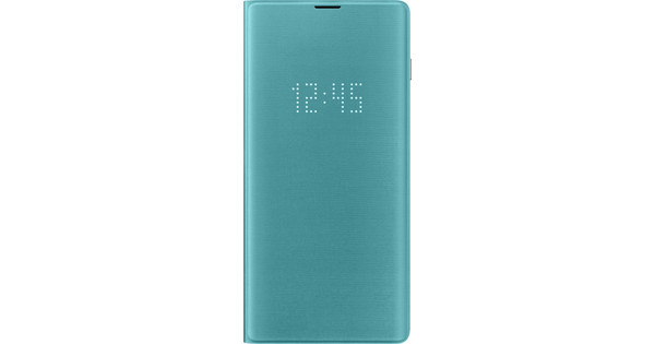Samsung Galaxy S10 Plus LED View Cover Book Case Green