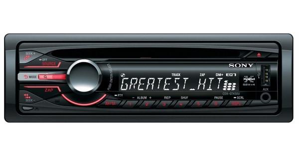 Sony CDX-GT450U Autoradio