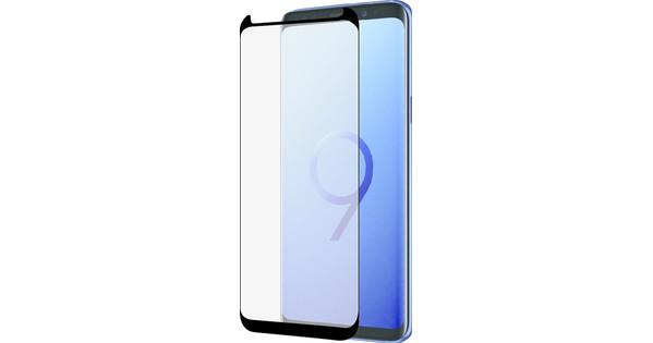 Azuri Protège-écran Incurvé en Verre Trempé Samsung Galaxy S9 Noir