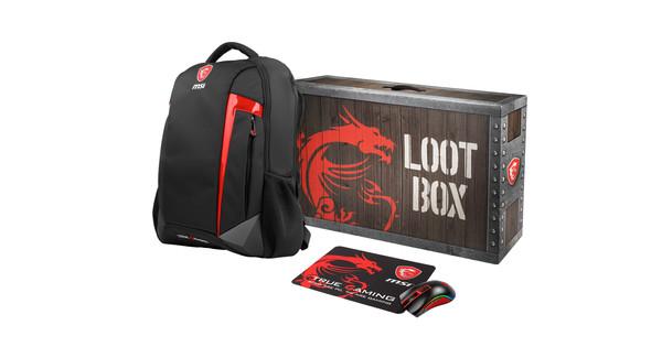 MSI Loot Box pack GE/GS 2019