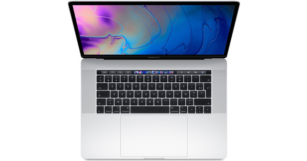 Apple MacBook Pro 15 inches Touch Bar (2019) MV932FN/A Silver AZERTY