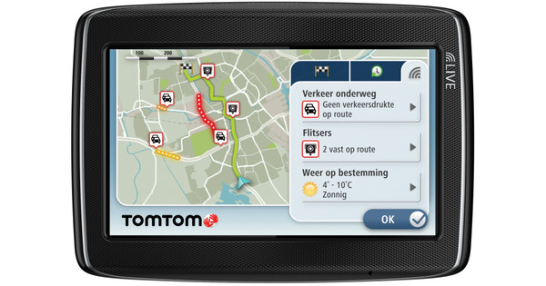 TomTom GO LIVE 820 + Tas + High Speed Multi Autolader