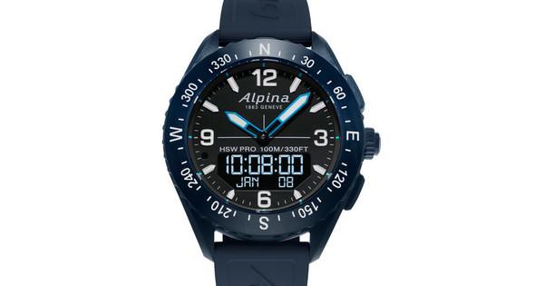 Alpina AlpinerX Blauw