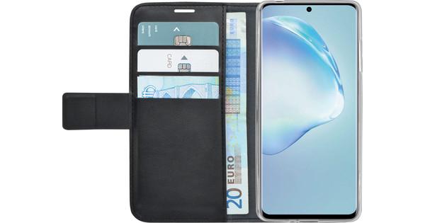 Azuri Wallet Samsung Galaxy S20 Plus Book Case Zwart
