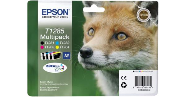 Epson T1285 4 Color Multipack (4 Couleurs) C13T12854010