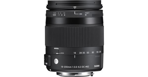 Sigma EF-S 18-200 mm f/3.5-6.3 DC Macro OS HSM C Canon