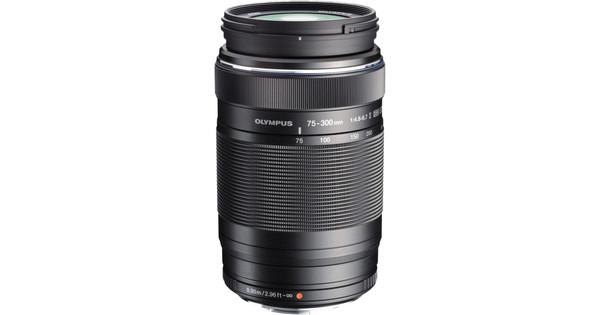Olympus M.Zuiko Digital ED 75-300mm f/4.8-6.7 II Black