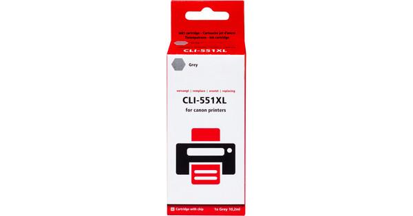 Pixeljet CLI-551XL Cartridge Gray