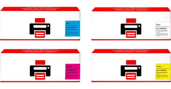 Pixeljet CLT-P4072C Toner Cartridges Combo Pack