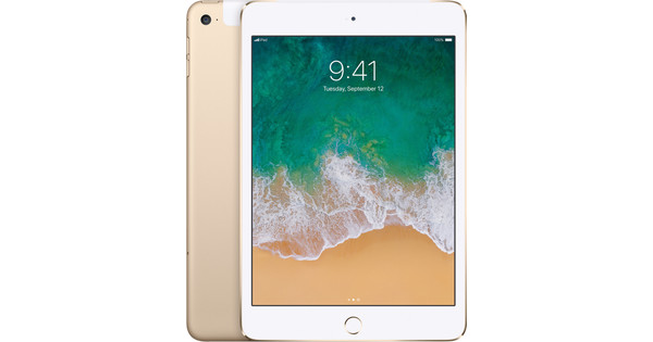 Apple iPad Mini 4 128GB WiFi + 4G Gold