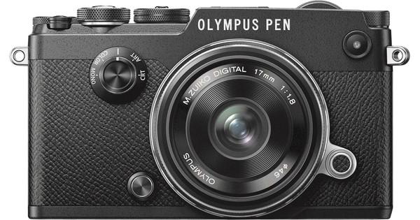 Olympus PEN-F Noir + 17 mm