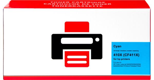 Pixeljet 410X Toner Cyan XL pour imprimantes HP (CF411X)