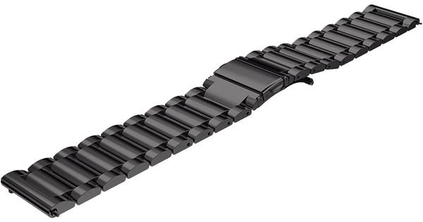Just in Case Samsung Gear S3 Bracelet de Montre en Inox Noir