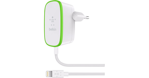 Belkin Charger Adapter Lightning 2.4A White