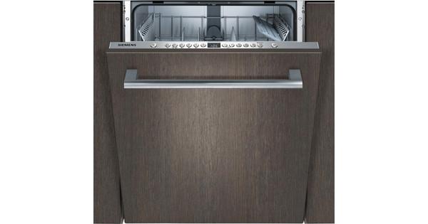 Siemens SN636X01GE / Inbouw / Volledig geïntegreerd / Nishoogte 81,5 - 87,5 cm