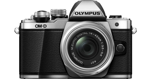 Olympus OM-D E-M10 Mark II Silver + 14-42mm IIR