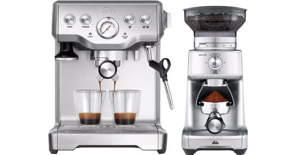 Solis Caffespresso Pro 117 + Caffissima Grinder 1611