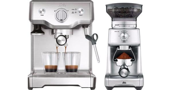 Solis Barista Perfect Pro 118 + Caffissima Moulin à café