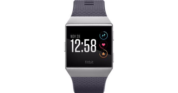 Fitbit Ionic Gris bleu et gris argenté