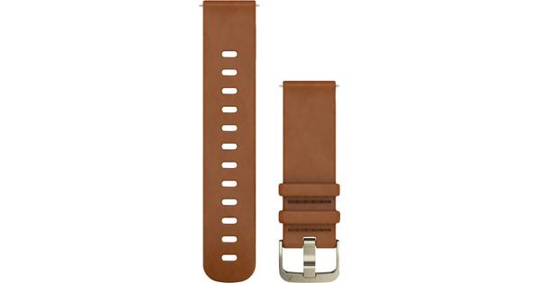 Garmin Vivomove HR Leather Watch Strap S - Brown