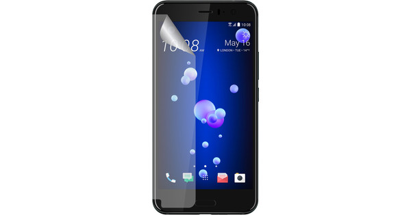 Azuri HTC U11 Protège-écran en plastique Lot de 2