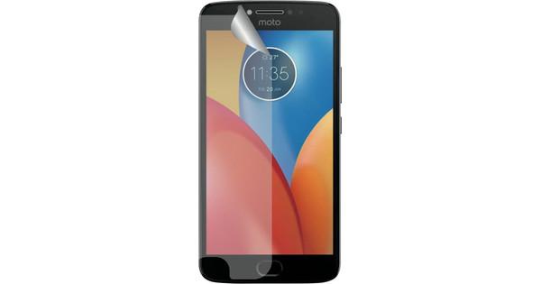 Azuri Motorola Moto E4 Protège-écran plastique Lot de 2