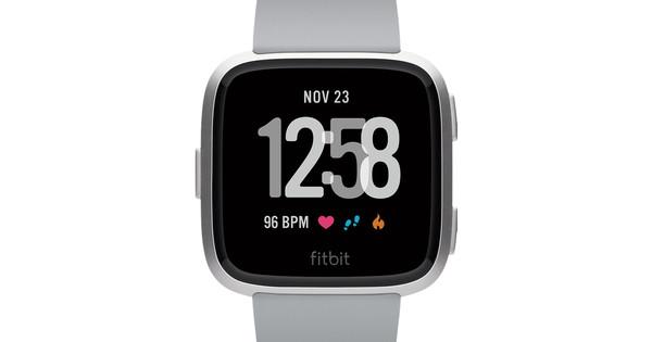 Fitbit Versa Aluminium Gris/Argent