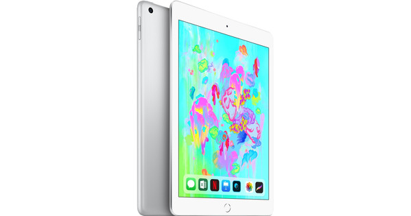 Apple iPad (2018) 128 GB Wifi Zilver