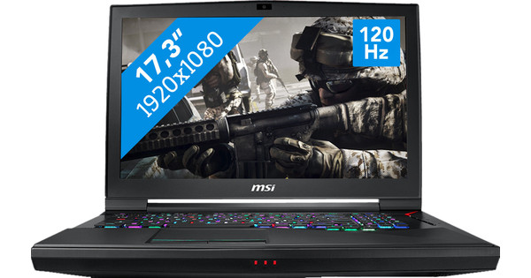 MSI GT75 Titan 8RF-044BE Azerty