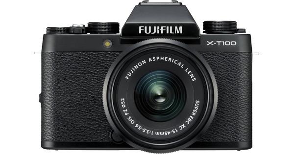 Fujifilm X-T100 Black + XC 15-45mm OIS PZ