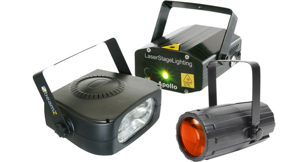 Beamz Light Package 4 : Moon+LaserR/G+ 150