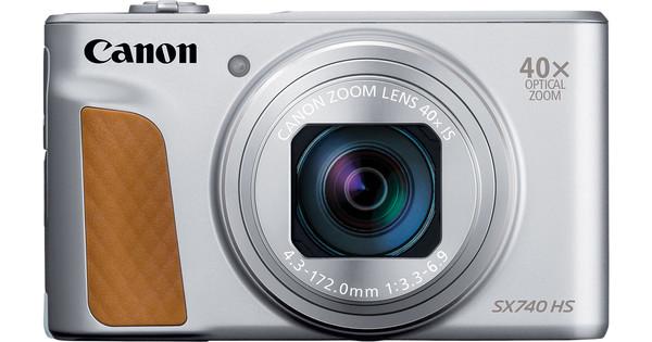 Canon PowerShot SX740 HS Argent