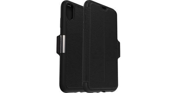 Otterbox Strada Apple iPhone Xs Max Book Case Zwart