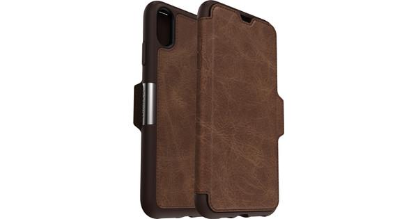Otterbox Strada Apple iPhone Xs Max Book Case Bruin