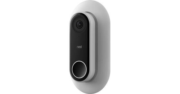 Elago Nest Hello Doorbell Mounting plate White