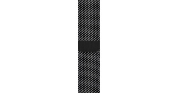 Apple Watch 42/44mm Watch Strap Milanese Space Black