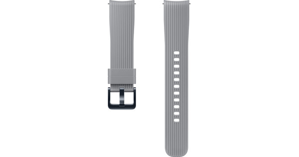 Samsung Galaxy Watch 42mm/Gear Sport Silicone Watch Strap Gray