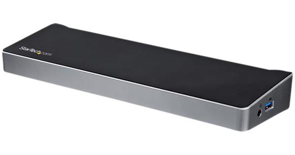 StarTech Station d'accueil USB Type-C à trois écrans 4K avec une puissance de charge de 60