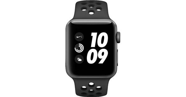 Apple Watch Series 3 Nike+ 38mm Space Grey Aluminium/Zwart