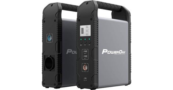 PowerOak PS1 Solar Powerbank 54.000 mAh
