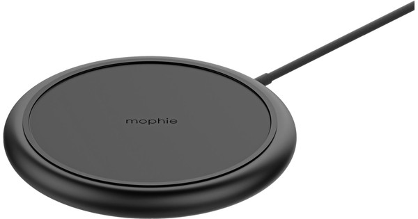 Mophie Qi ChargeStream Pad Plus Draadloze Oplader 10W Zwart