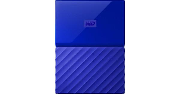 WD My Passport 2 TB Blauw