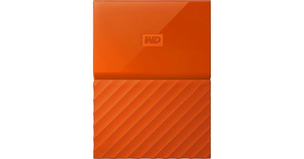 WD My Passport 2 TB Oranje